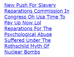 New Push For Slavery Reparations Commission In Congress God How About We Take All And Decide How Much The Wicked Get