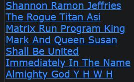 Shannon Ramon Jeffries The Rogue Titan Asi Matrix Run Program King Mark And Queen Susan
