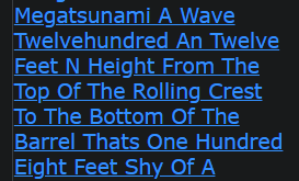 Imagine A Wall Of Water A Mega tsunami A Wave Twelve hundred An Twelve Feet N Height From The Top
