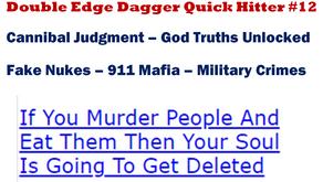 Double Edge Dagger Quick Hitter #12