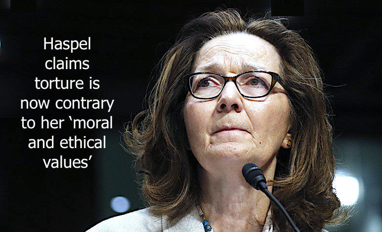 Haspel Claims Torture Is Now Contrary To Her Moral And Ethical Values