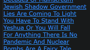 Decades Of Mainstream Jewish Shadow Government Lies Are Coming To Light You Have To Stand