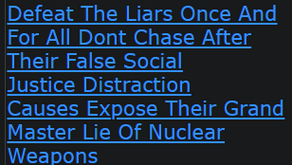 Defeat The Liars Once And For All Dont Chase After Their False Social Justice Distraction Causes