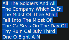 All The Soldiers And All The Company Which Is In The Midst Of Thee Shall Fall Into The Midst