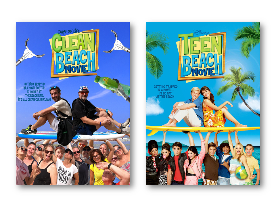 Clean Beach Movie