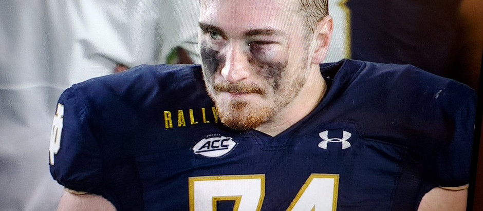 RUN THE FOOTBALL: a Fighting Irish Preview poem