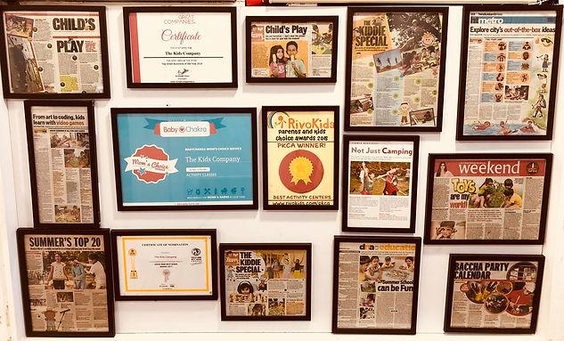 The Kids Company's Awards