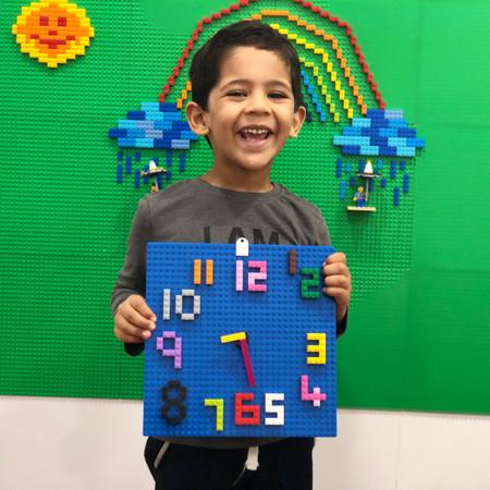 Lego Clock at TKC