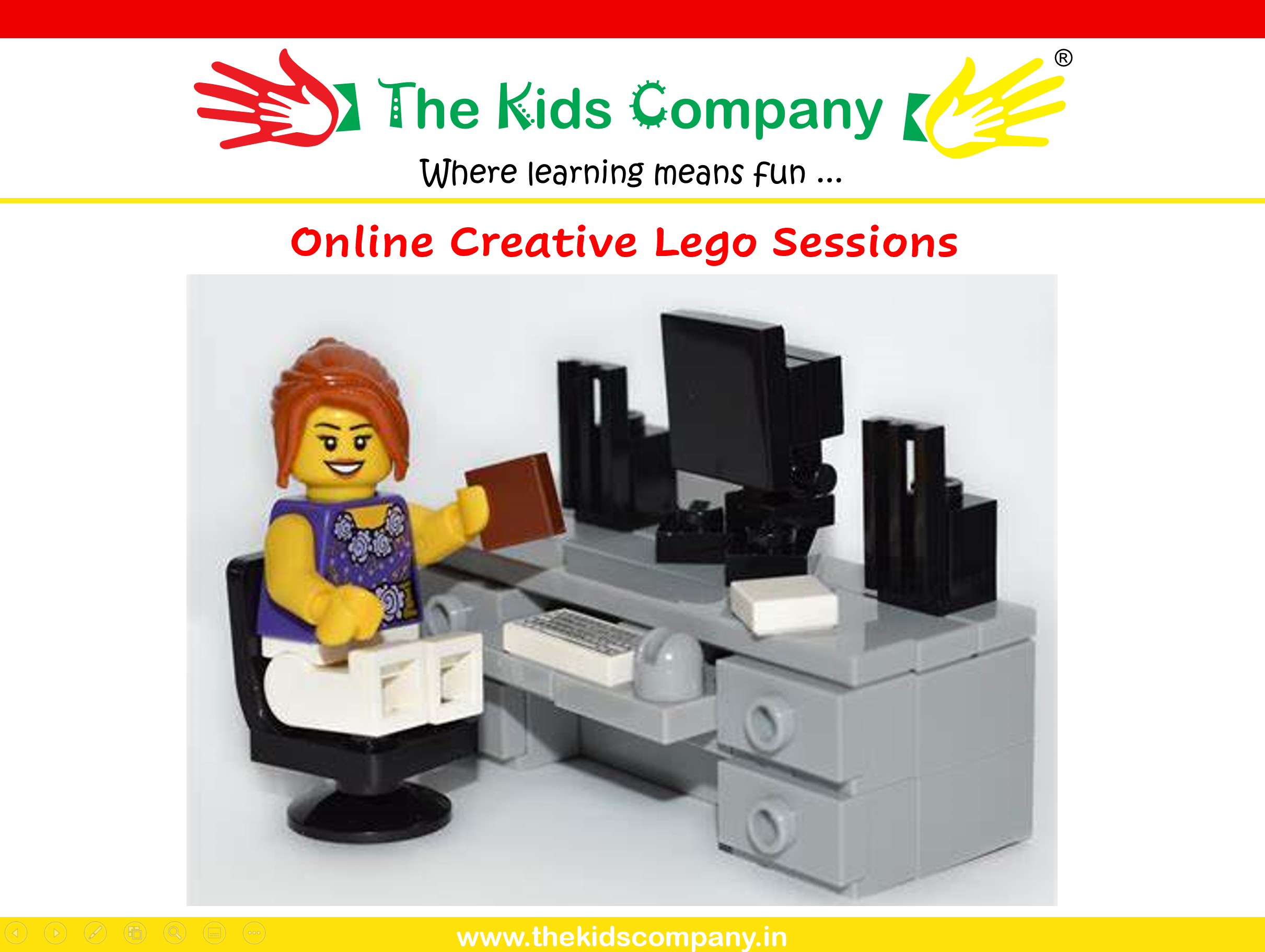 Online Creative Lego Sessions