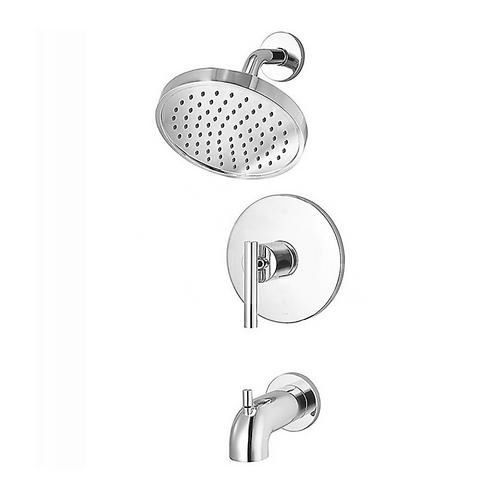 Wall Mount Pressure Balanced Tub & Shower Trim