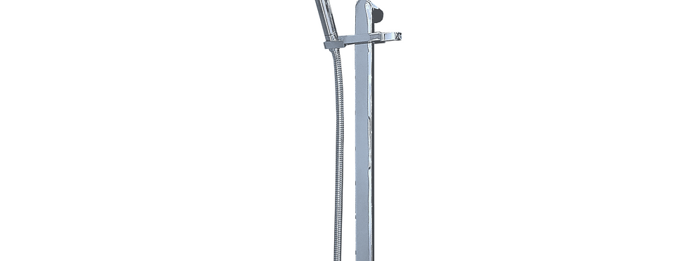 Chrome Round Shower Kit