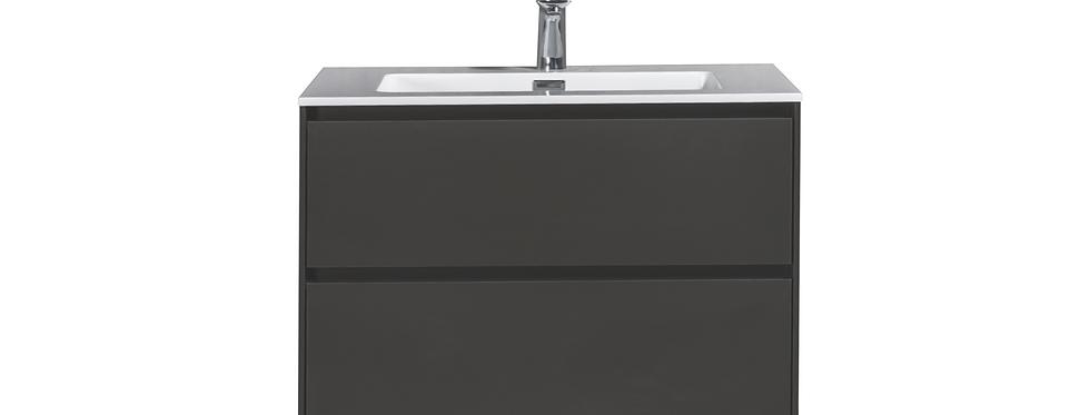 SLICE 750-30 (Matte Grey) - Vanity