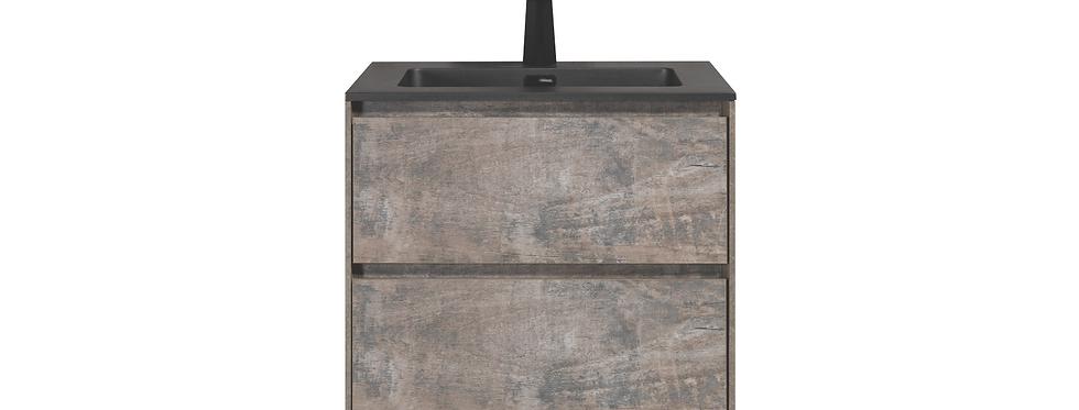 SLICE 600-24 (Concrete Grey) - Vanity