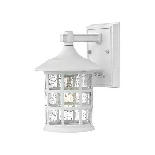 """9"""" Classic White Outdoor Wall Mount"""