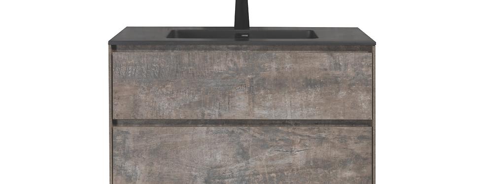SLICE 900-35 (Concrete Grey) - Vanity