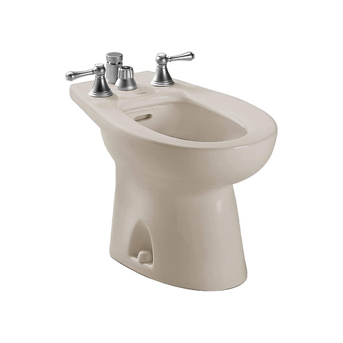 Bone Vertical Spray Bidet Toilet