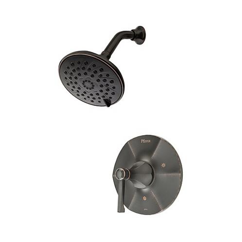 Bronze Shower Faucet Trim Kit