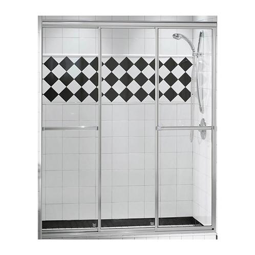"58"" Triple Plus Shower Doors"