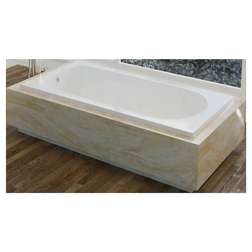 "72″ Drop-In Bath w/ 2"" Lip"