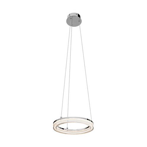 LED Chrome Pendant Ceiling Light