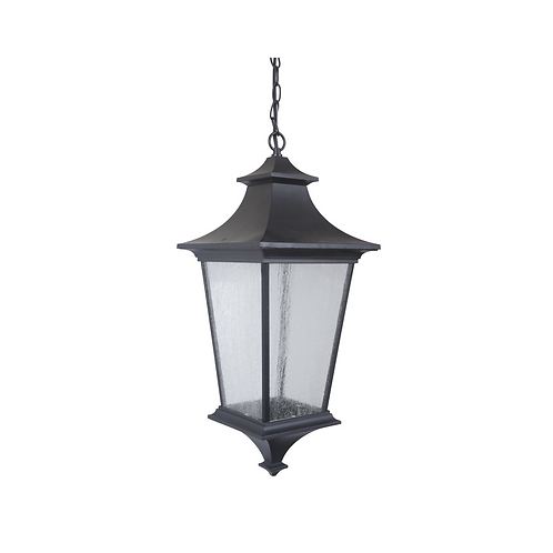 "24"" 3-Light Pendant Midnight"