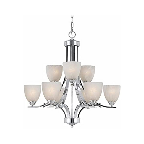 Traditional 9-Light Chandelier