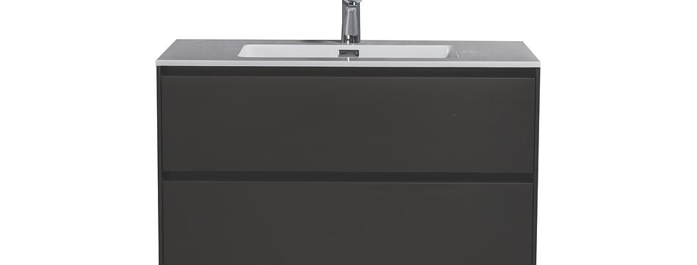 SLICE 900-35 (Matte Grey) - Vanity