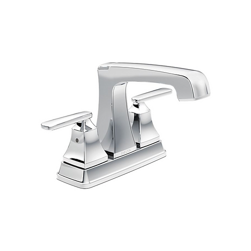 Two Handle Centerset Bathroom Faucet