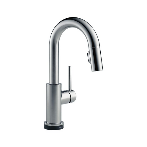 Single Handle Pull-Down Bar/Prep Faucet w/ Touch