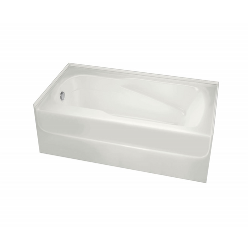 5' Soaker Tub w/ Left Drain