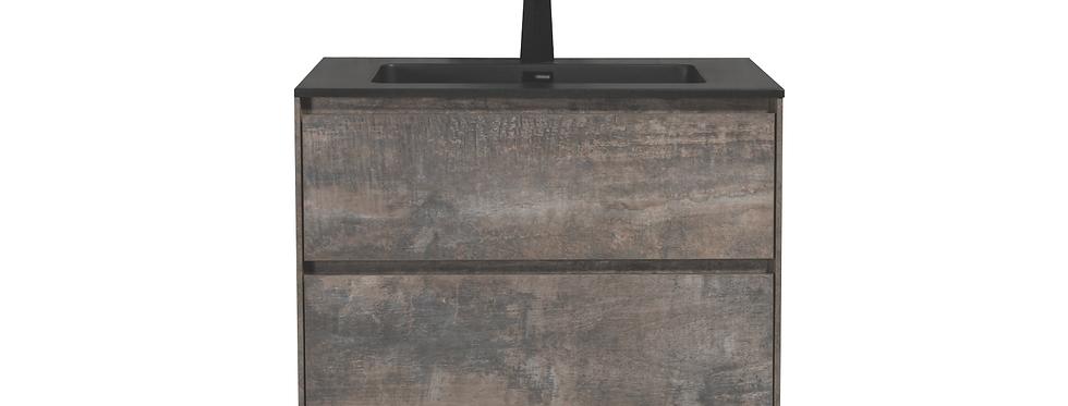 SLICE 750-30 (Concrete Grey) - Vanity
