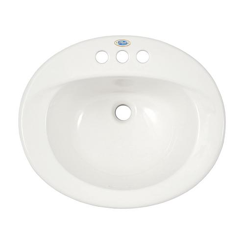 "4"" Centerset Self Rimming Sink"