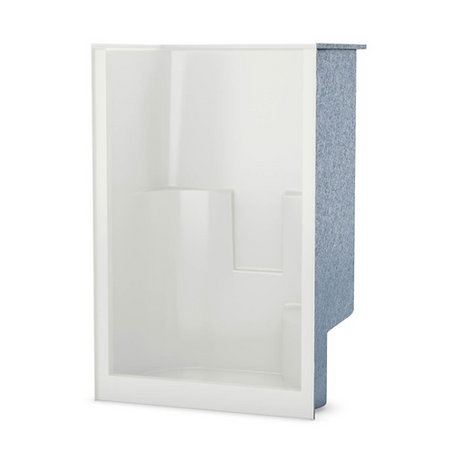 1-Piece Shower w/ Right Seat