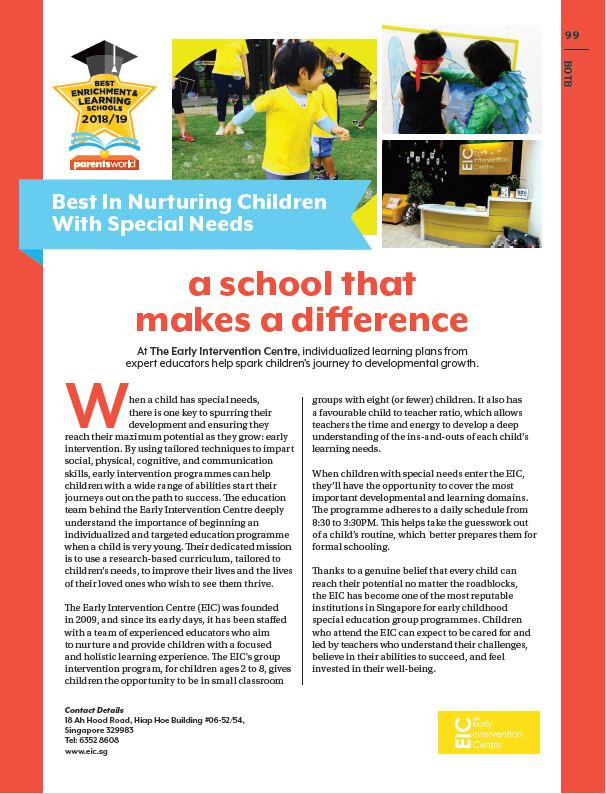A featured article by Parents World Magazine.