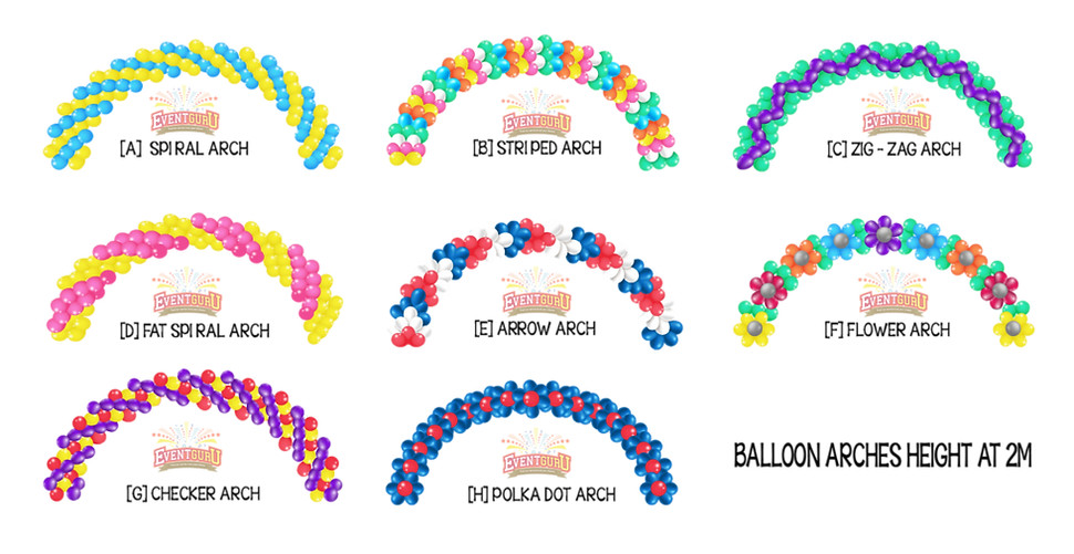 balloon arch decorations