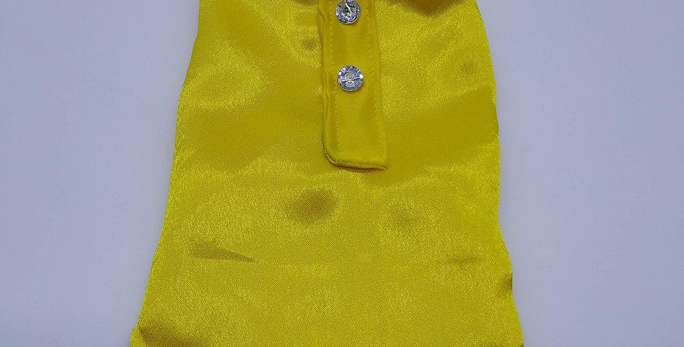 Yellow Sleeveless Size XXXS