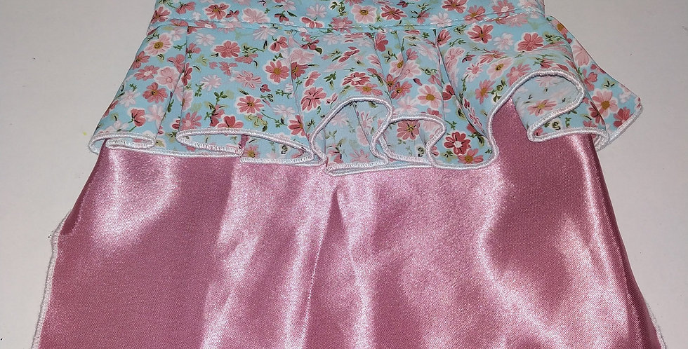 Floral pink Sleeveless Size S