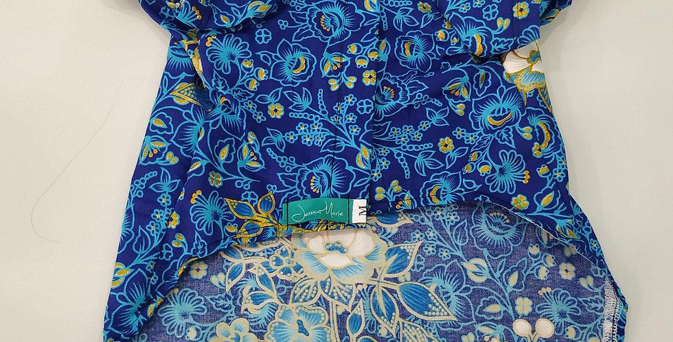 Floral Blue Male Size M