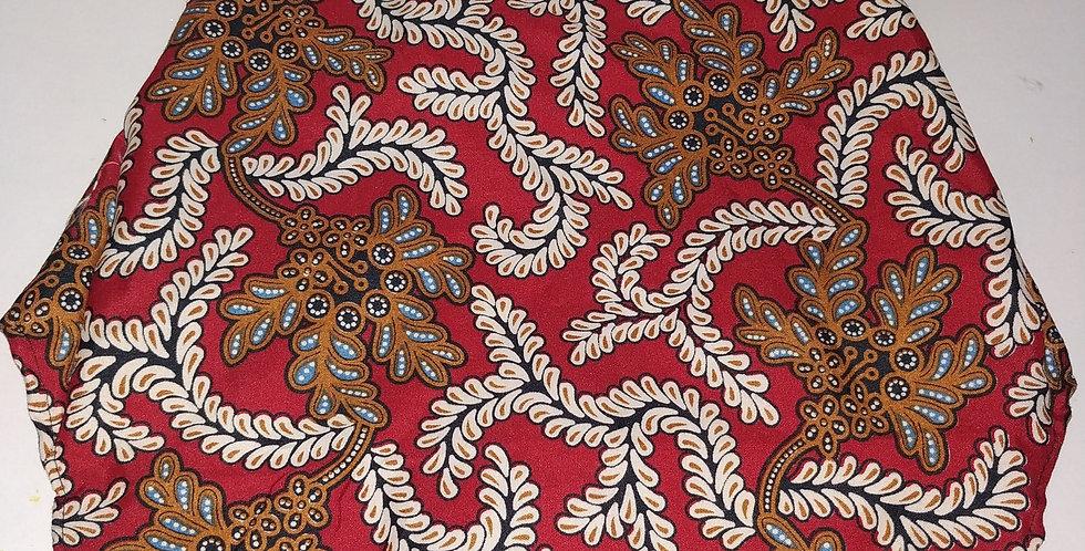 Red & Brown Batik Size M
