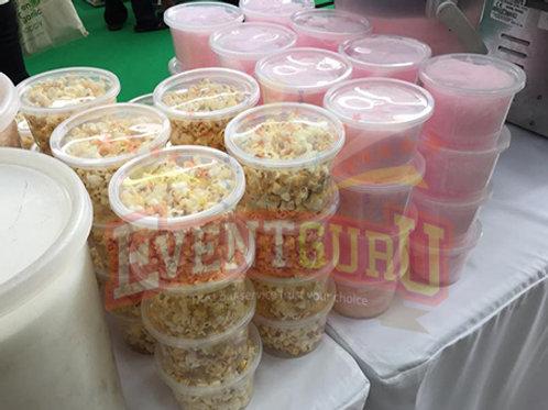 prepack popcorn candy floss