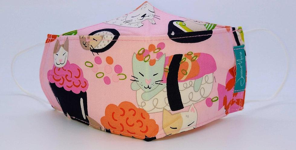 Boat Mask -Sushi Cat