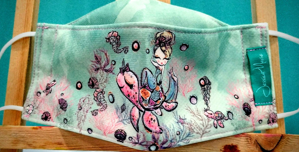 Boat Mask - Mermaid and Friends