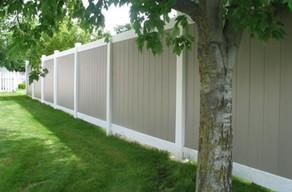 Residential Vinyl Fence