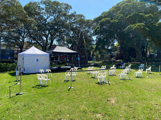 City Of Sydney Pop-Up Village Concerts