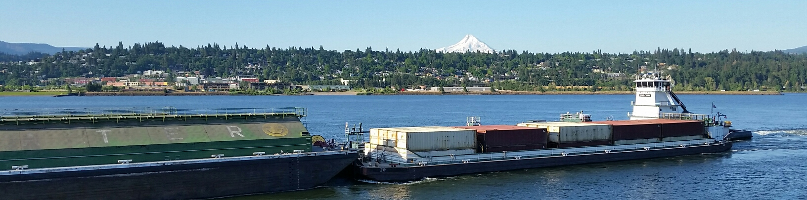 Chief Upbound at Hood River