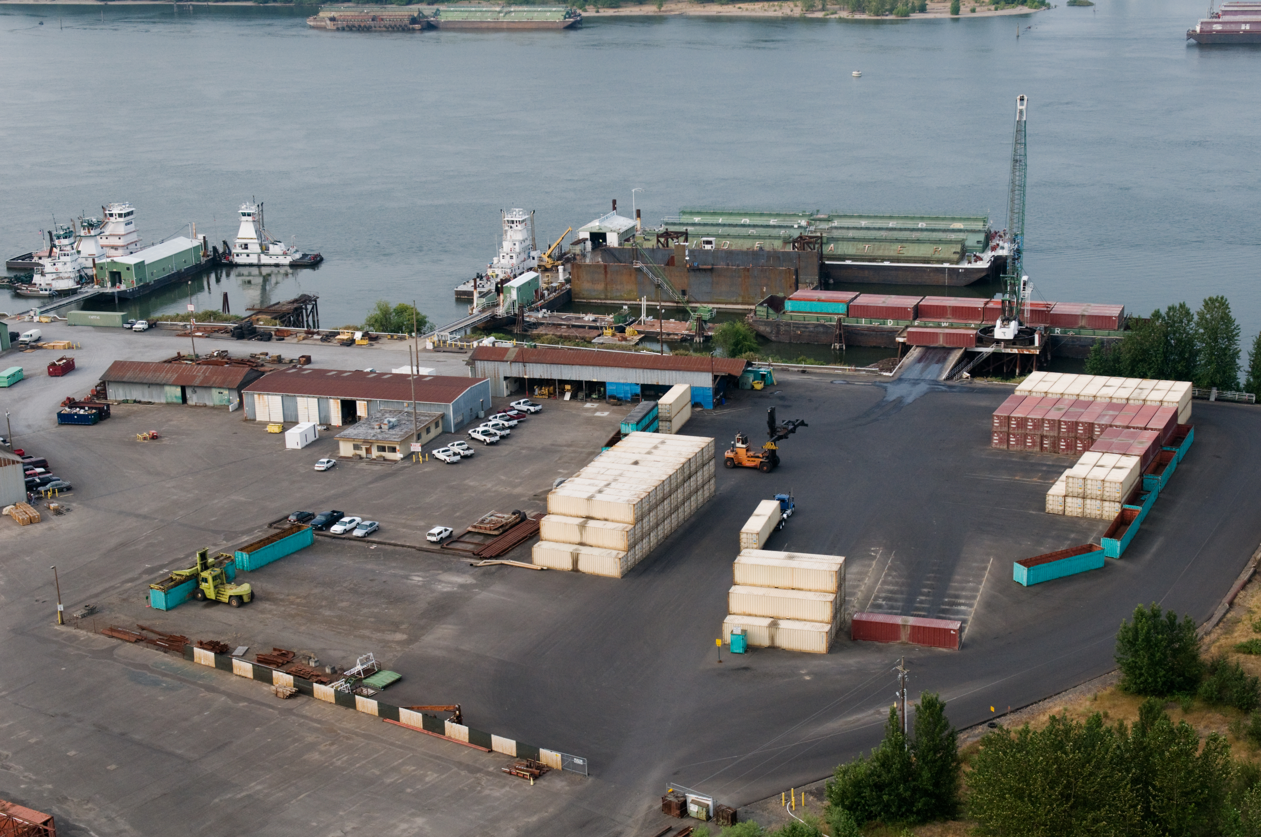 Tidewater Vancouver Container Yard