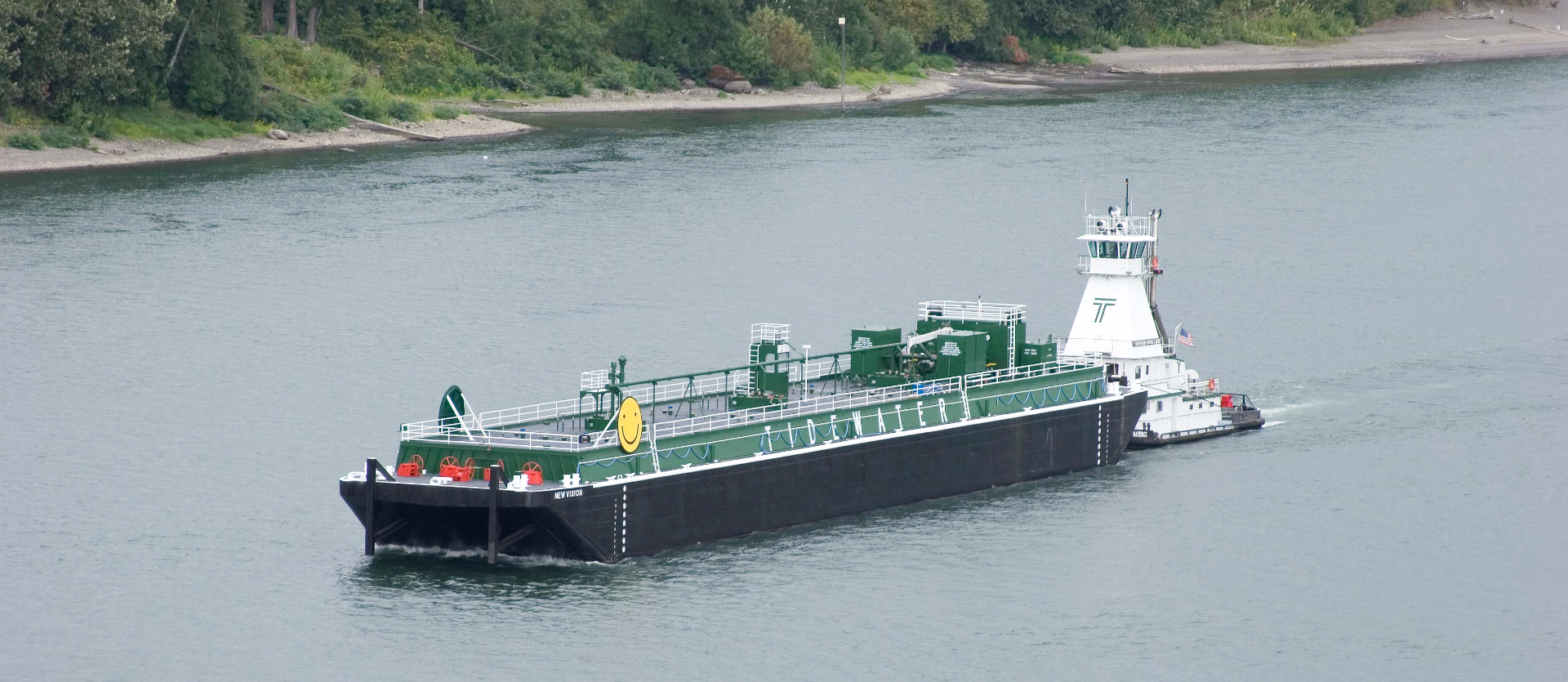 Tidewater's New Vision Barge