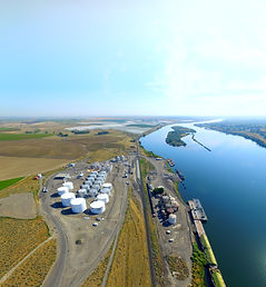 Tidewater's Snake River Terminal in Pasc