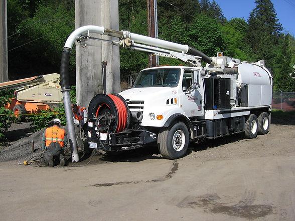 Tidewater Environmental Services Vacuum Truck