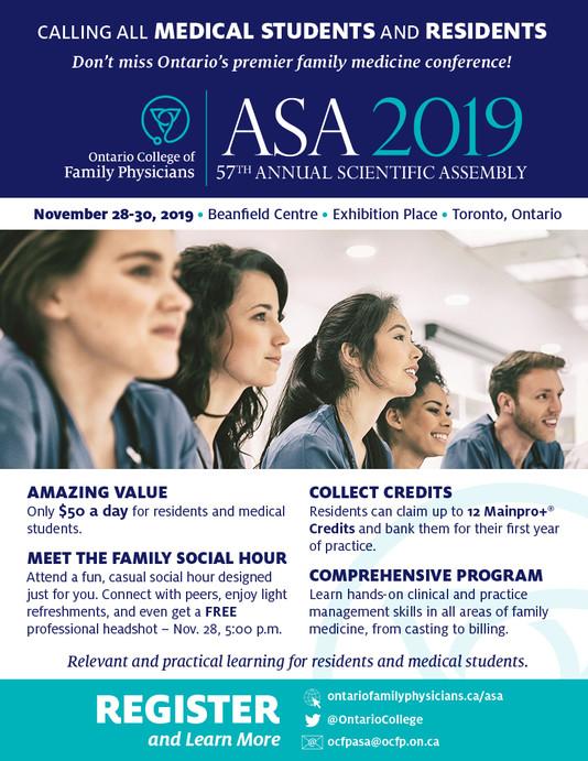 ASA Conference Nov 28-30th, 2019